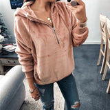 Fashion Pullover Female  Hoodies Autumn Winter