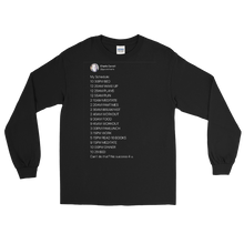 Load image into Gallery viewer, My Schedule Long Sleeve (Dark Mode)
