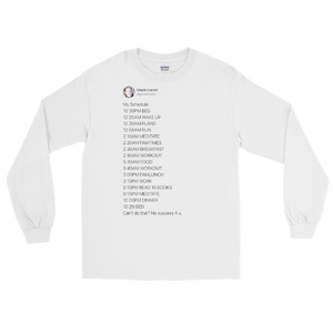 My Schedule Long Sleeve (Light Mode)
