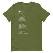 Load image into Gallery viewer, My Schedule T-Shirt (Dark Mode)