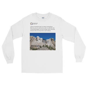 Mount Rushmore Long Sleeve (Light Mode)