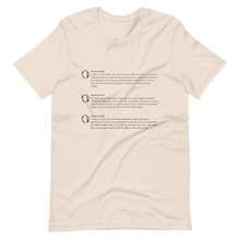 Load image into Gallery viewer, Epstein Tweets T-Shirt (Light Mode)