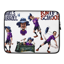 Load image into Gallery viewer, Knife School Laptop Sleeve