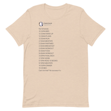 Load image into Gallery viewer, My Schedule T-Shirt (Light Mode)