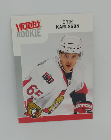 Erik Karlsson 2009-10 Victory Rookie Card