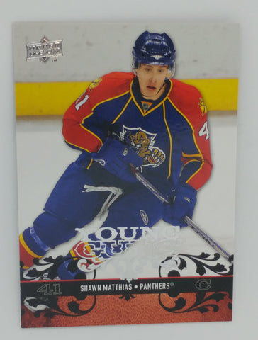 Shawn Matthias 2008-09 Upper Deck Rookie Card