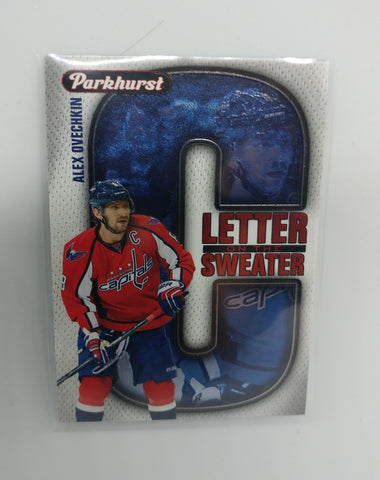 "Alex Ovechkin 2016-17 Parkhurst ""Letter Sweater"" Card (LS7)"