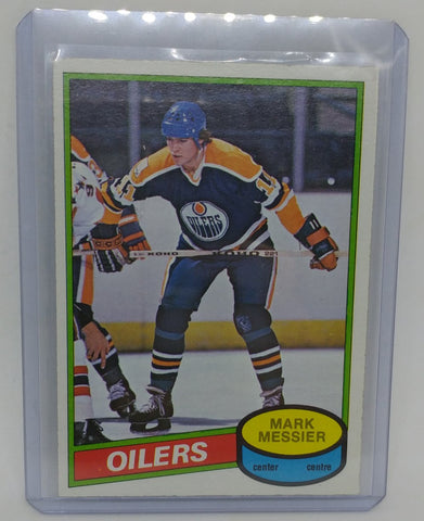 1980-81 O-Pee-Chee Mark Messier Rookie Card