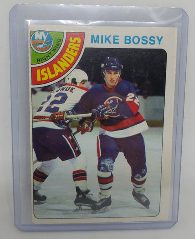 1978-79 O-Pee-Chee Mike Bossy Rookie Card