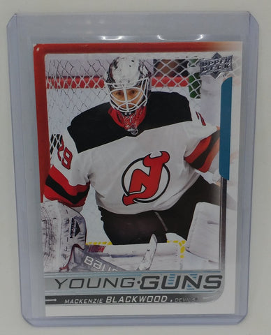 2018-19 Upper Deck Mackenzie Blackwood Young Guns Rookie Card