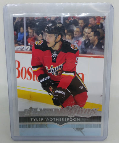 2014-15 Upper Deck Tyler Wotherspoon Young Guns Rookie Card