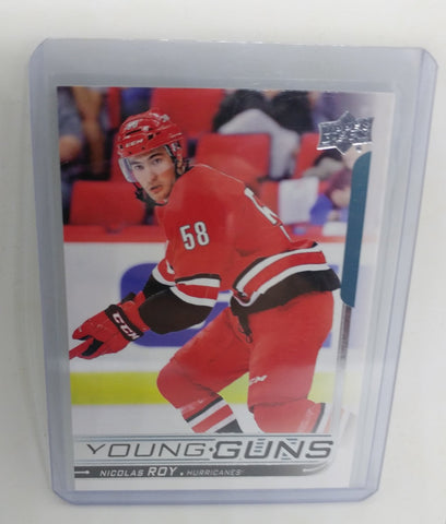 2018-19 Upper Deck Nicolas Roy Young Guns Rookie Card