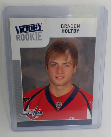 2009-10 Victory Braden Holtby Rookie Card