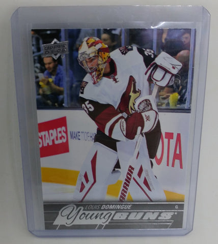 2015-16 Upper Deck Louis Domingue Young Guns Rookie Card