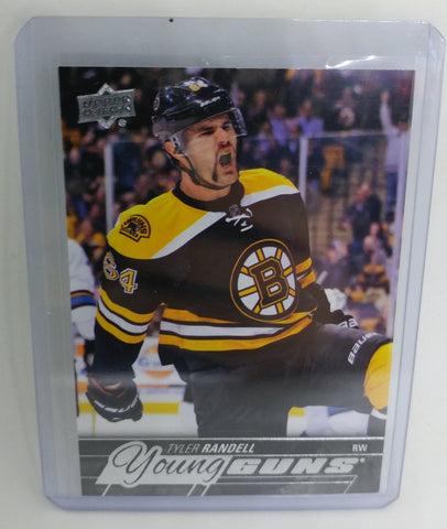 2015-16 Upper Deck Tyler Randell Young Guns Rookie Card