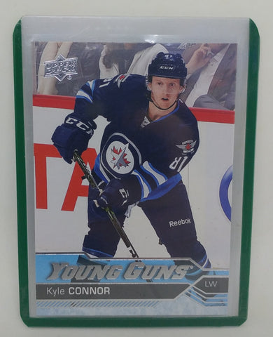 2016 -17 Kyle Connor Upper Deck Young Guns Rookie Card