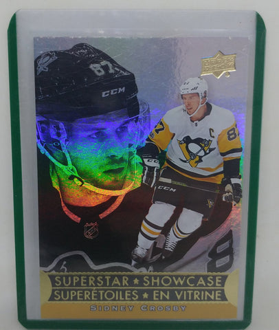 2018-19 Sidney Crosby Tim Hortons Superstar Showcase Card