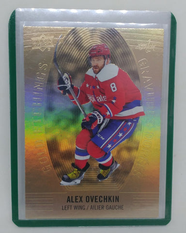 2019-20 Alex Ovechkin Tim Hortons Gold Etching Card