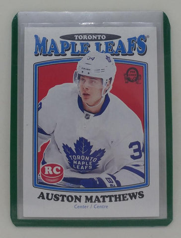 Auston Matthews 2016-17 O-Pee-Chee Rookie Card