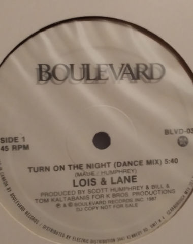 Louis and Lane- Turn on the night