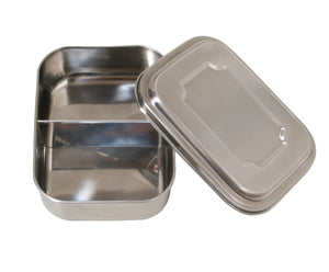 Stainless Steel Lunchbox - Double Compartment