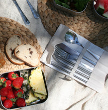 Load image into Gallery viewer, Stainless Steel Travel Cutlery Set