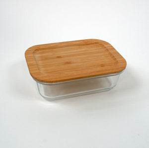 Small Glass food container