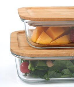 Large Glass food container