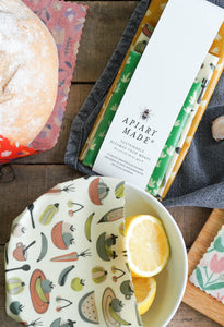 3 Medium Beeswax Wraps