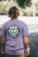 purple family tee