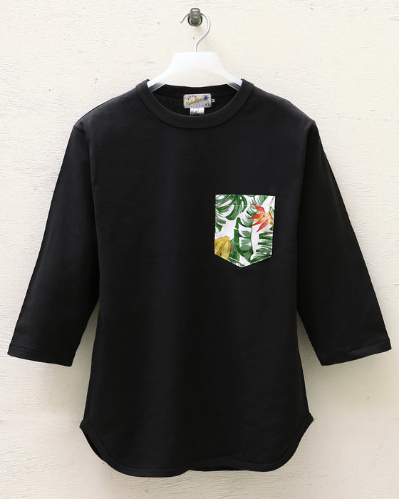 Base Ball Tシャツ ポケ付き