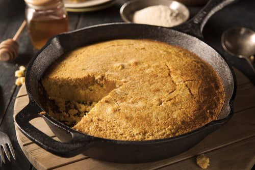 Recipe: Cast Iron Chipotle Maple Cornbread