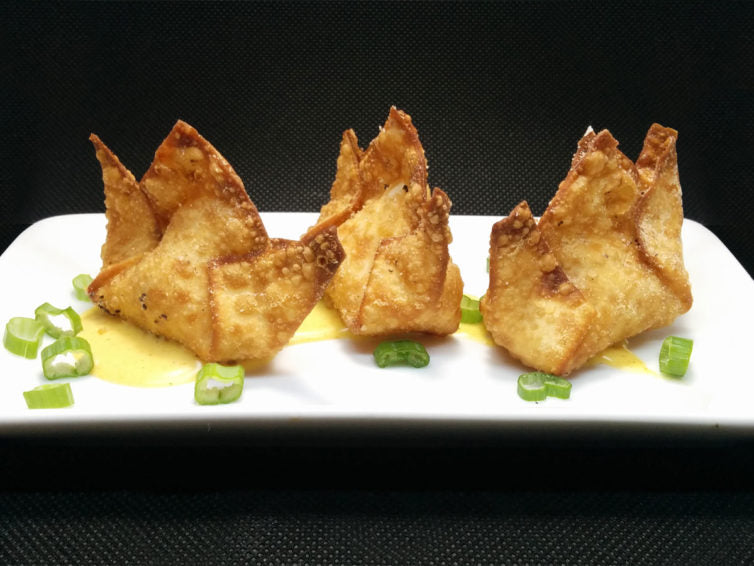 Recipe: Lox & Cream Cheese Wontons with Hollandaise Sauce
