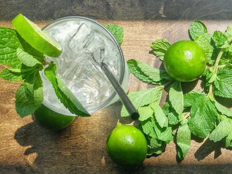 Recipe: The Modest Mojito (Mint-Lime Simple Syrup Recipe)