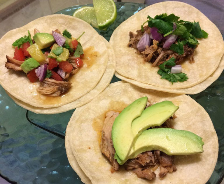 Recipe: Mole Pork & Pineapple Tacos