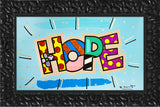 HOPE (WORD) -  Mixed Media Original