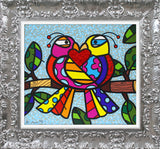 LOVE BIRDS (BLUE) - Limited Edition Print
