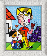 BOY AND HIS DOG - Limited Edition Print
