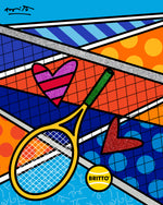 MATCH POINT - Limited Edition Print