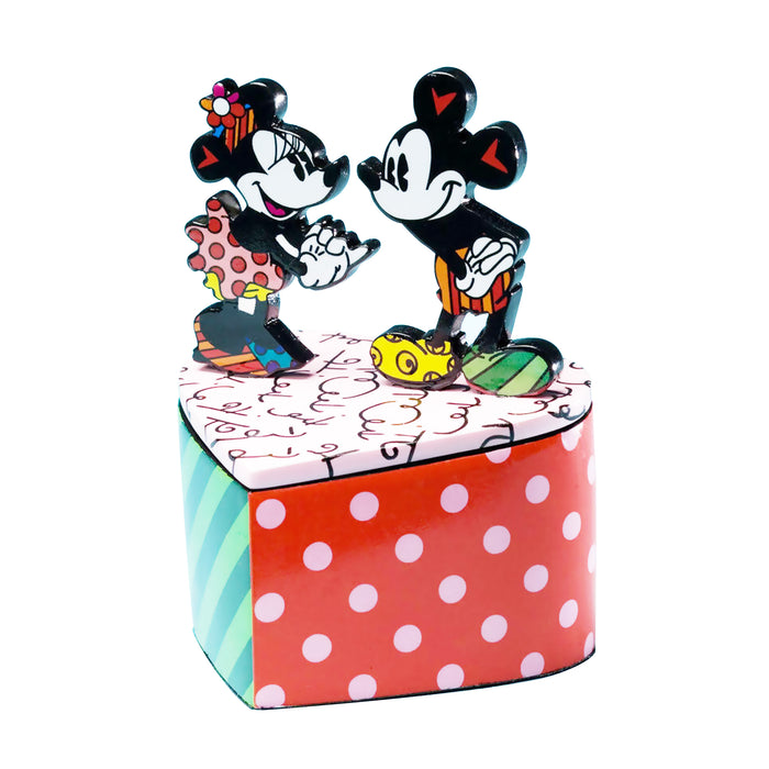 MICKEY & MINNIE HEART BOX - DISNEY