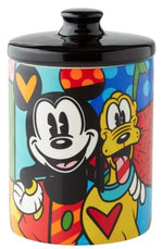 MICKEY AND PLUTO COOKIE JAR - DISNEY