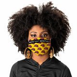 FACE MASK - LIPS (YELLOW) 5-PACK - *LIMITED TIME SPRING BREAK OFFER*