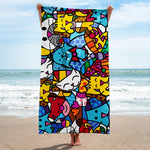 Limited Edition - BEACH TOWEL - BEST FRIENDS