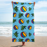 Limited Edition - BEACH/POOL TOWEL - MIAMI (BLUE)