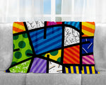 Limited Edition - BRITTO BLANKET - COLORFUL LANDSCAPE