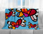 Limited Edition - BRITTO BLANKET - LOVE IS IN THE AIR