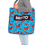 Limited Edition - BRITTO BEACH BAG - FLYING HEARTS