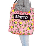 Limited Edition - BRITTO BEACH BAG - LEMONS