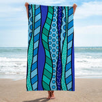 Limited Edition - BEACH/POOL TOWEL - OCEAN WAVES