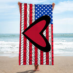 Limited Edition - BEACH TOWEL - AMERICAN FLAG